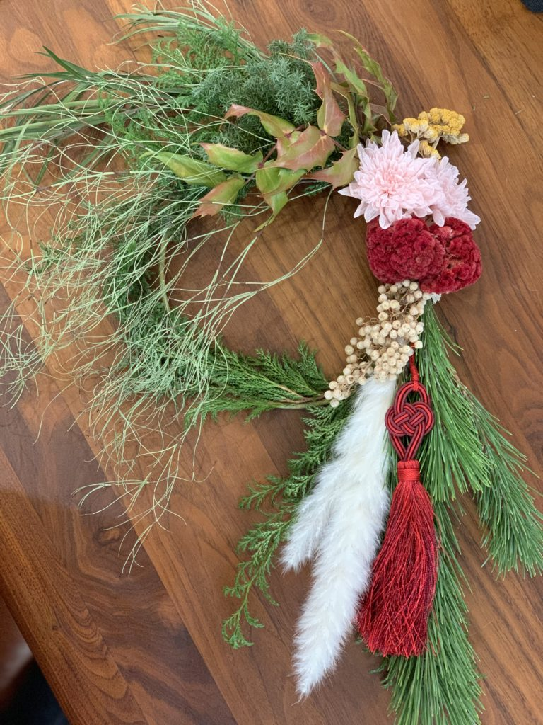 doux jardinしめ縄飾り